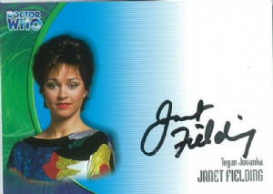 Doctor Who JANET FIELDING as Tegan Jovanka AUTOGRAPH CARD AU17, Strictly Ink -  10651